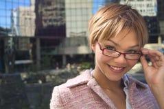 04 kobieta jednostek gospodarczych Zdjęcia Stock