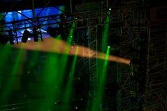 04 lights stage Στοκ φωτογραφία με δικαίωμα ελεύθερης χρήσης