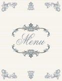 04 menu Obrazy Stock