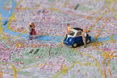 04 miniatury ludzi Zdjęcie Stock