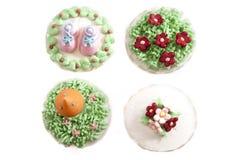 04 muffinserie Royaltyfria Bilder