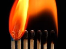 04 ogień Zdjęcie Stock