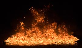 04 ogień Zdjęcie Royalty Free