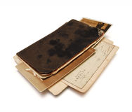 04 Old Notebook Stock Images