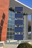 04 panneaux photovoltaïques Photos libres de droits