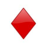 04 pojedynczy pokera symbol Fotografia Stock