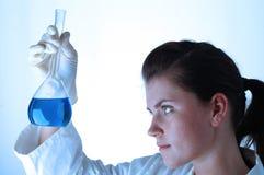 04 substancji chemicznych badań Zdjęcia Royalty Free