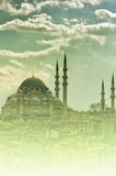 04 suleiman的清真寺 免版税库存图片