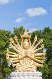 04 wielo- orężny Buddha Obraz Stock