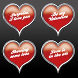 04 wyrazy miłości Obraz Royalty Free