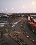 04 yard linii kolejowych Fotografia Royalty Free