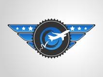 0420 Pilot Badge Royalty Free Stock Photos