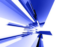043 elementy abstrakcjonistycznego szklane Fotografia Stock