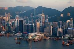 043 Hong Kong Arkivfoton
