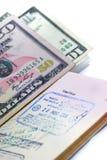 05个国际护照系列 库存照片