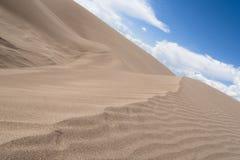05个沙丘极大的国家公园蜜饯沙子 图库摄影