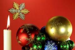 05圣诞前夕新的精神年 库存图片
