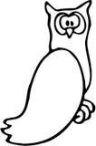 05猫头鹰 向量例证