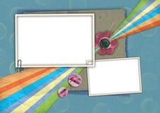 05 κατσίκια καρτών διανυσματική απεικόνιση