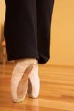 05 ботинок pointe Стоковая Фотография
