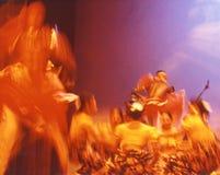 05 танцоров Цейлона Стоковые Изображения