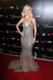 05 12 22 2012 angela tilldelar den Hilton Hotel för kullar för beverly ca galagracie kinseyen Arkivbild