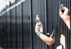 05 500 fuzj Gillette Czerwiec nascar proglide Zdjęcie Royalty Free