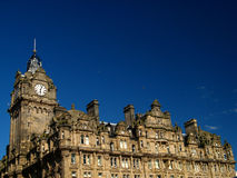 05 balmoral Edinburgh hotel Fotografia Royalty Free