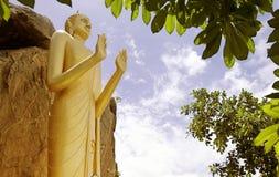 05 buddha standing Arkivbild