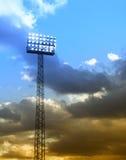 05 floodlights stadionie Obraz Stock