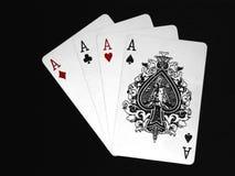 05 karty grać Zdjęcia Royalty Free