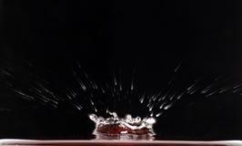 05 kropli wody. Zdjęcia Stock