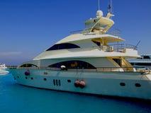 05 luksusowych jachtów Obraz Royalty Free