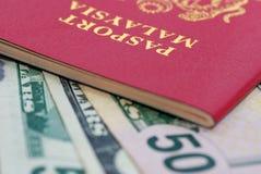 05 międzynarodowych paszportowych serii Obrazy Stock