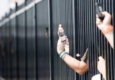 05 nascar proglide της Gillette Ιούνιος 500 τήξης Στοκ φωτογραφία με δικαίωμα ελεύθερης χρήσης