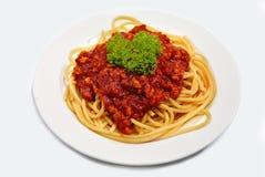 05 serie spagetti Royaltyfria Foton