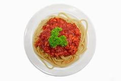 05 serie spagetti Royaltyfri Bild