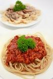 05 serie spagetti Arkivbild
