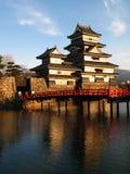 05 slott japan matsumoto Arkivbilder
