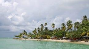 05 strand karibiska tobago Arkivfoto