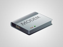 0508 Modem Icon Royalty Free Stock Photos