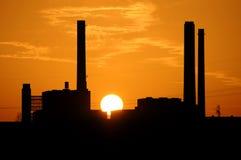 058 elektrownia Obrazy Stock