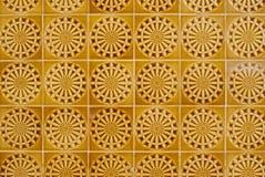 058 glasade portugisiska tegelplattor Arkivbild