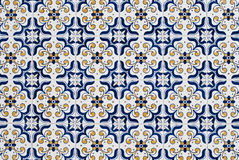 059 застеклили португальские плитки Стоковая Фотография RF