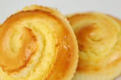 06个小圆面包甜点 免版税库存图片