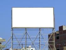06个广告牌空白 图库摄影