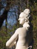06个庭院彼得斯堡圣徒雕塑夏天 库存照片