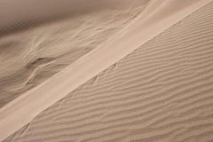 06个沙丘极大的国家公园蜜饯沙子 免版税库存图片