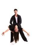 06个舞厅黑人舞蹈演员 免版税图库摄影