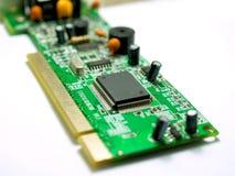 06台计算机调制解调器 免版税图库摄影